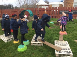 Nursery's Obstacle Courses!